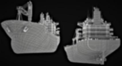 Laser scan Shipbuilding, Ballast water treatment system, 3D laser scan, BWTS laser scan, Spain, Algeciras, Barcelona, Valencia, Vigo, Santander, Tangier