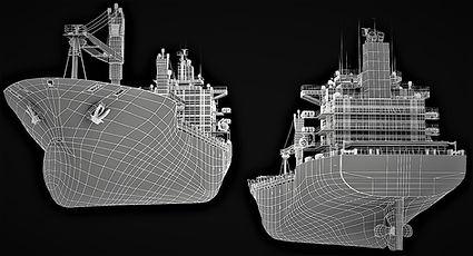 Scan laser Construction navale, Système de traitement des eaux de ballast, Scan laser 3D, Scan laser BWTS, Espagne, Algeciras, Barcelone, Valence, Vigo, Santander, Tanger