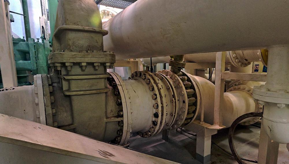 3D Laser scanning Crude Oil Tanker pump room, BWTS, EGCS, Spain, Europe, Malta, Portugal, Germany, Turkey