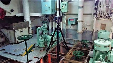 Laser scanning Ballast Water Treatment System, 3D laser scanning, BTWS laser scanning, spain, algeciras, Barcelona, Valencia, Vigo, Santander