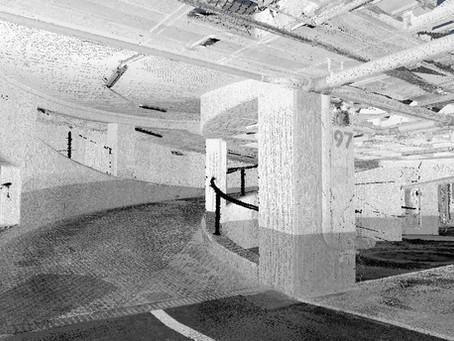 Escaneado Láser 3D de plantas de parking edificio oficinas Barcelona