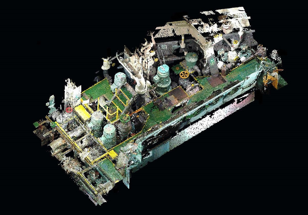 BWTS Laser Scanning Engine and Pump room, spain