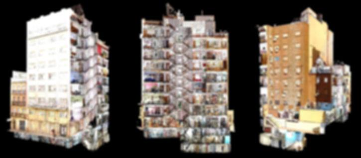 Escaneo Edificios completos, Levantamiento de planos, Escáner láser 3D, BIM,  Autodesk Revit, Autocad, Archicad, Solid Works, Barcelona, Arquitectura, Ingeniería, Escaneo 3D Edificios