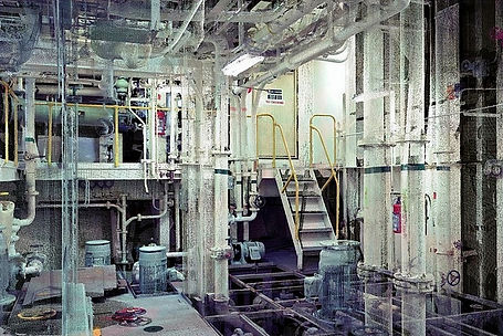 Numérisation laser des systèmes de traitement de l'eau de ballast pour bateaux (BWT)