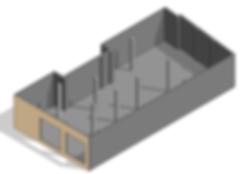 Modèle numérique généré à partir de nuages de points, bâtiments de numérisation 3D, scanner laser, BIM, Revit, Archicad, architecture, ingénierie, Madrid, Barcelone, Espagne