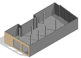 Modelo digital generado a partir de nube de puntos (Point Cloud), Escaneo 3D Edificios, escaner láser, BIM, Revit, Archicad, Arquitectura, Ingeniería, Madrid, Barcelona, España