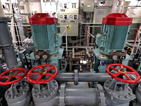 BWTS & Engine room laser scanning Bitumen tanker - Spain