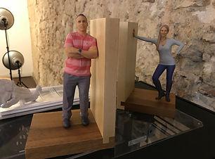 Composiciones de figuras impresas en 3D, Escaneo 3D, Impresión 3D, Escaner 3D, Impresora 3D