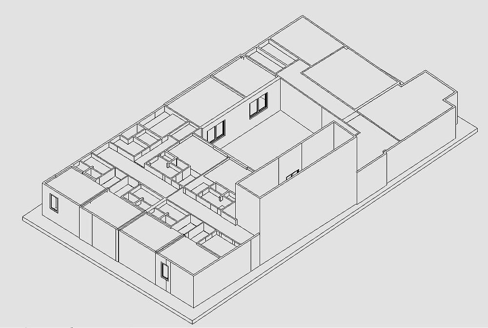 Modelo básico desde Nube de puntos obtenida con escaner laser