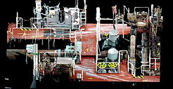 Naval 3D laser scanning, BWTS, ballast water treatment system, ship laser scanning, 3D laser shipbuilding, modernization projects, BTW, Spain, Algeciras, Barcelona, Valencia, Santander, Bilbao, Tangier, Europe