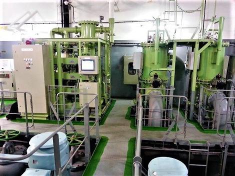 Capture laser 3D dans la construction navale, système de traitement des eaux de ballast à balayage laser, Algeciras, Espagne, Barcelone, Valence, Santander