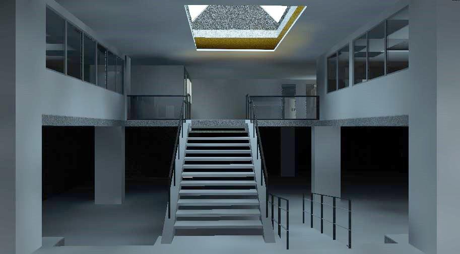 Generación de modelos 3D en Revit - Archicad a partir de un proyecto de escaneado láser Barcelona - España