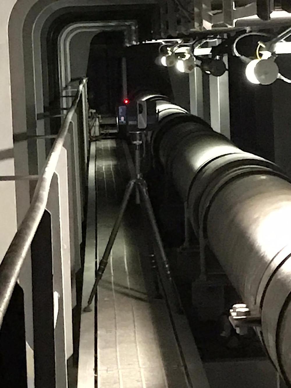 Nanal laser scanning - Europe - Spain