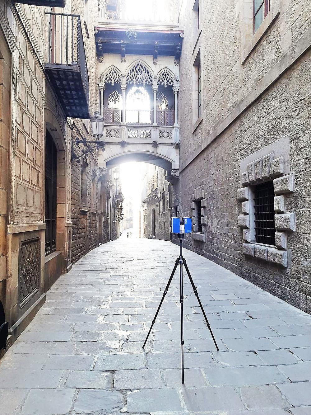 Escaneo laser 3D del Puente del Obispo - Barcelona - España - Patrimonio y Arquitectura