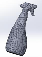Modelo 3D formato paramétrico