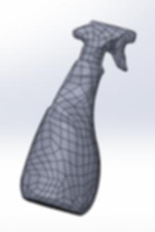 Ingeniería inversa modelo de malla, Escaneo 3D, Impresión 3D, Escaner 3D, Impresora 3D, Barcelona