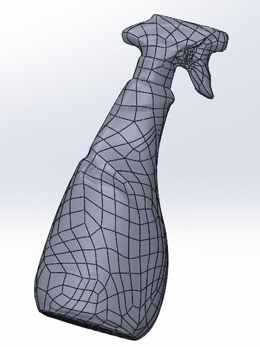 Escaneado láser 3D industria - elementos de consumo