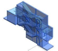 LOD 200 BIM, Revit model, point cloud, Laser Scanning, 3D Building Scanning, Laser Scanner, 3D Scanning, BIM (Building information modeling), CAD, architecture, Engineering, 3D Building Scanning, Archicad, Reverse Engineering, Barcelona, Madrid, Valencia, Zaragoza, Algeciras, Cádiz, Tarragona, Spain