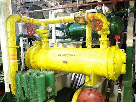 Laser Scanning General Cargo Vessel 23127 t engine room for BWTS retrofit