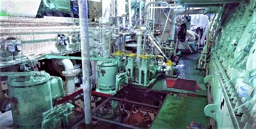 3D Laser capture in shipbuilding, Laser scanning engine room, 3D laser scanning, BTWS laser scanning, spain, algeciras, Barcelona, Valencia, Vigo, Santander