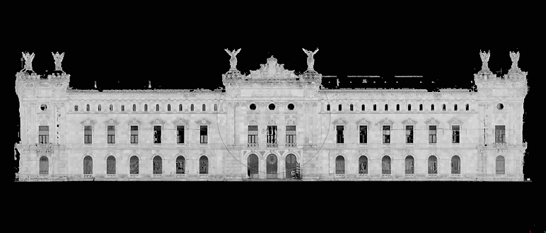 3D Laser Scan - Point cloud: Digitization of infrastructure, architecture, heritage, industry and engineering | BIM (Building Information Modeling), 3D Buildings Scanning
