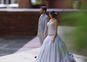 Figuras novios 3D, Figuras novios para tartas, Impresión 3D, Escaneado 3D, Arreglos 3D Novios, Barcelona, españa