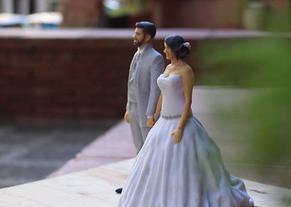 Figuras reales novios en 3D, Figuras novios para tartas, Impresión 3D, Escaneado 3D, Arreglos 3D Novios