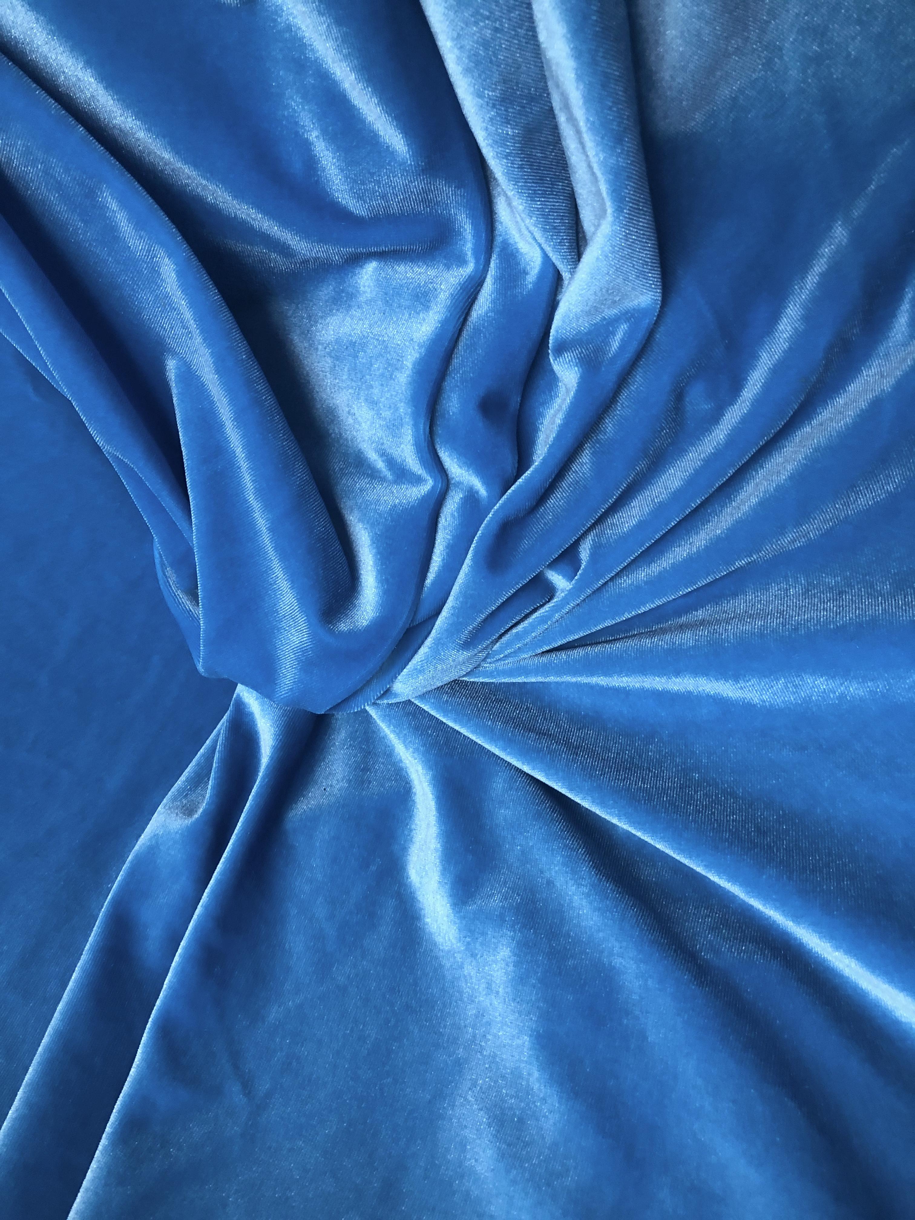 Terciopelo Azul Claro