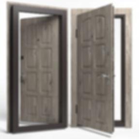 Дверь APECSв МДФ/МДФ Премьер 860 Л сосна