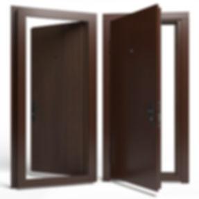 Дверь APECSм Ма/ДСП 950 Л орех