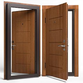 Дверь APECSв МДФ/МДФ 860 Л з.дуб СтандN (8245)