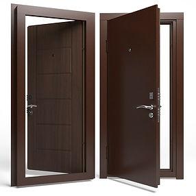 Дверь APECSв М/МДФ 860 Л орех СтандN(90008251)