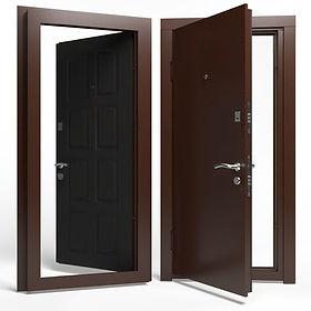 Дверь APECSв М/МДФ Премьер 860 Л венге
