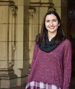 Lindsey Allen, SDSU, Women in Science Society, Secretary