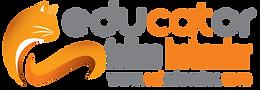 Logo - Educhateur 19 ANG - blanc Trans.p