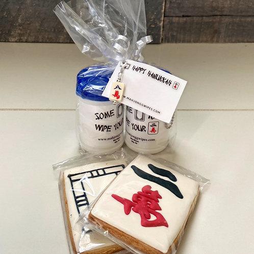 Hanukkah Mah Jongg Wipes Gift Set
