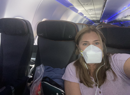 A look at the Pandemic from the Skies Above