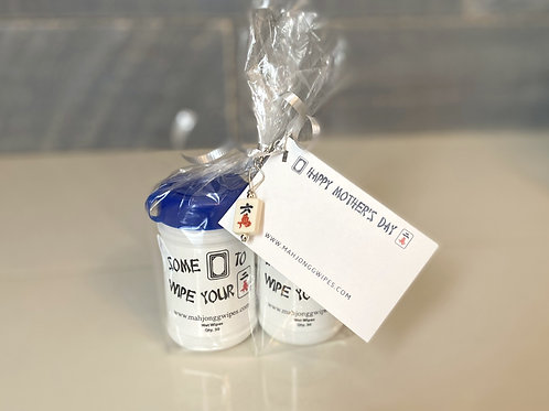 Mother's Day Mah Jongg Wipes Gift Set