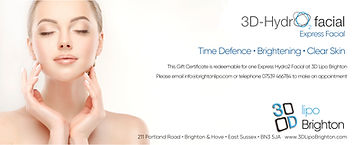 3d lipo hydro2 facial gift certificate.j