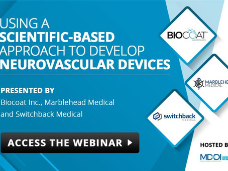 We are proud to present a webinar in conjunction with Biocoat and Marblehead Medical