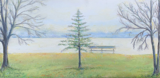 Bench on Shawano Lake - Wisconsin