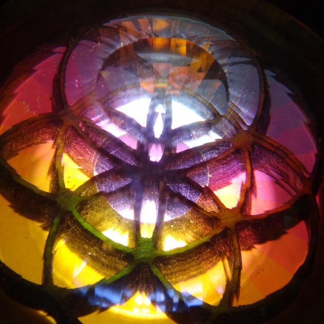 seed of life in crystal light