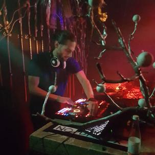 Djing at Club Werk Vienna Cura magica event