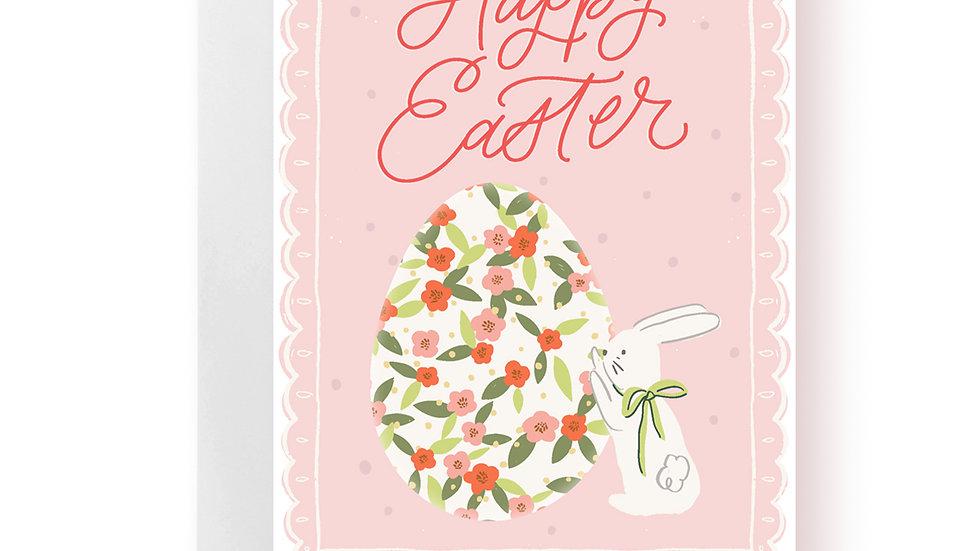 Easter Card - Happy Easter Big Egg
