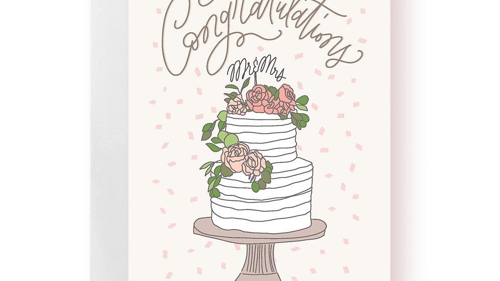 Wedding Card - Congratulations