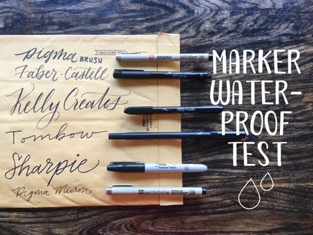 Which Marker is the most Waterproof?