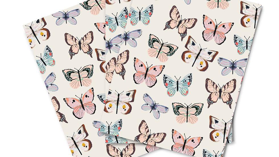 Note Card Set - Butterflies
