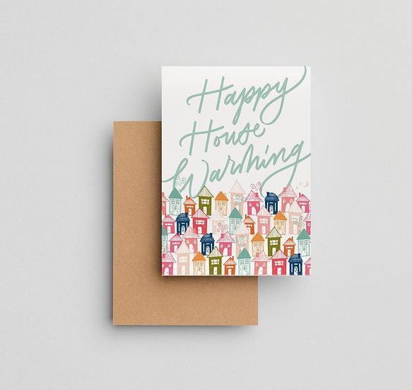 Happy Housewarming - Note Card