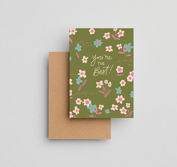 You're the Best - Note Card