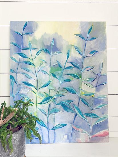 "New Season - 24x30"" Acrylic Painting on Canvas"